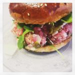 Burger tartare - La Dinette